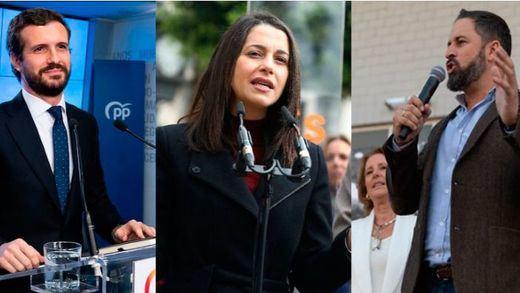 PP, Vox y Cs critican que Sánchez diga que