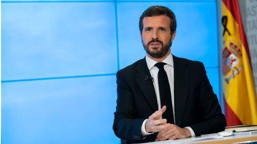 Casado anuncia que el PP no apoyará la prórroga del decreto del estado de alarma