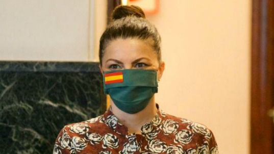 Las mascarillas con la bandera de España que causan furor en Internet