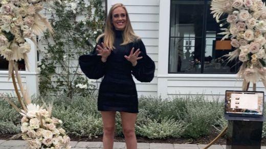 Adele sorprende con un cambio de imagen radical por su pérdida de peso