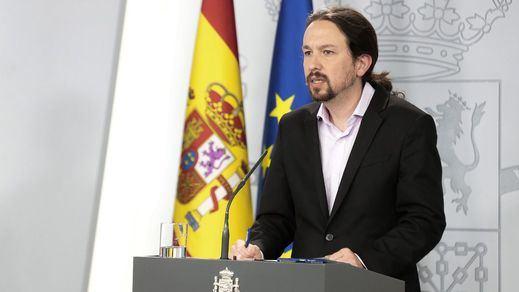 El Constitucional admite los recursos de PP y Vox contra el acceso de Pablo Iglesias a información del CNI