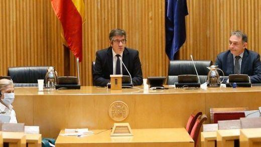 Patxi López, en la Comisión para la Reconstrucción: