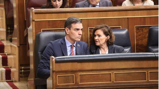 Calvo responde a Junqueras y niega que el Gobierno haya cambiado de socios pese al acuerdo con Cs