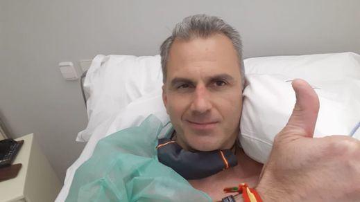 Ortega Smith, ingresado por trombos provocados por el coronavirus