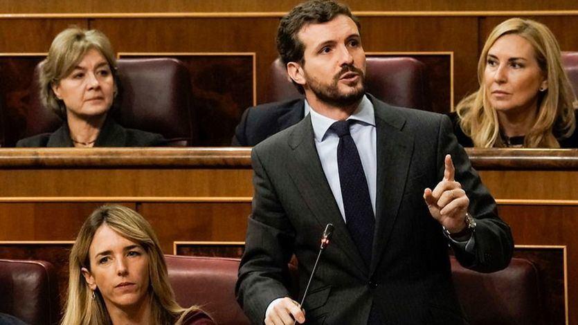 Casado explota: 'No tendrán nuestra complicidad para arruinar España por tercera vez'