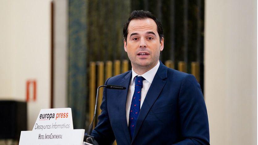Aguado califica de 'ruido interesado' los rumores sobre una moción de censura para hacer caer a Ayuso