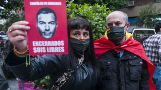 El barrio de Salamanca se volvió a revolver contra el Gobierno pese a la presencia policial