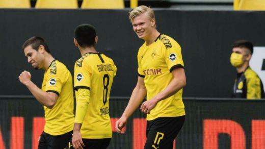 La vuelta del fútbol en Alemania, protagonizada por un Dortmund que arrasó al Schalke (4-0)