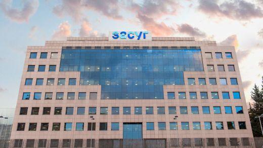 Sacyr ganó en el primer trimestre 166 millones de euros, un 16% más