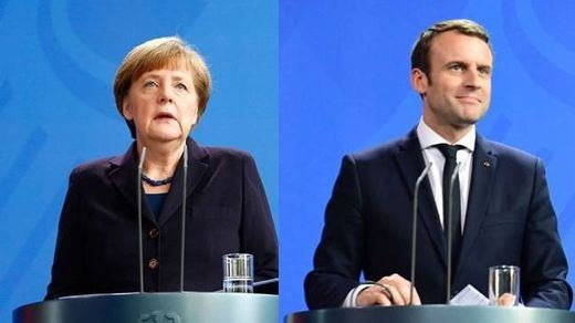 Merkel y Macron proponen un fondo de recuperación de 500.000 millones, lejos de lo que pide España
