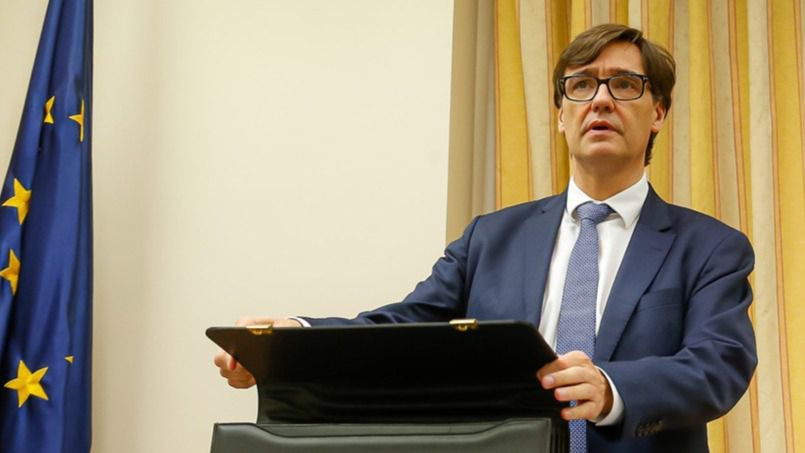 Salvador Illa: 'El lunes toda España estará, al menos, en fase 1 y el 47% de la población en fase 2'
