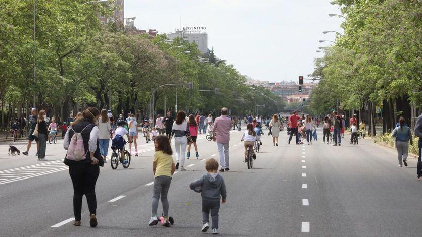 Sanidad flexibiliza medidas para las fases 1 y 2: adiós a las restricciones en los paseos de niños y adultos