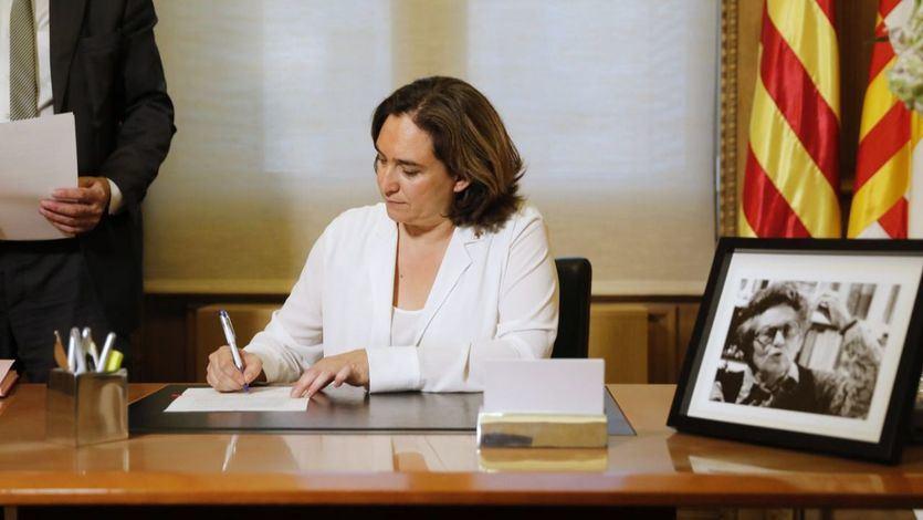 Colau intenta reconstruir los puentes con ERC con la mirada puesta en las elecciones catalanas