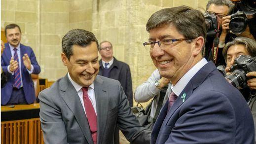 PP y Cs entregan a Vox la presidencia de la comisión para la reconstrucción de Andalucía