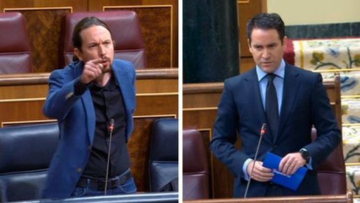 Iglesias acusa al PP de llamar a la insubordinación de los cuerpos y fuerzas de seguridad contra el Gobierno