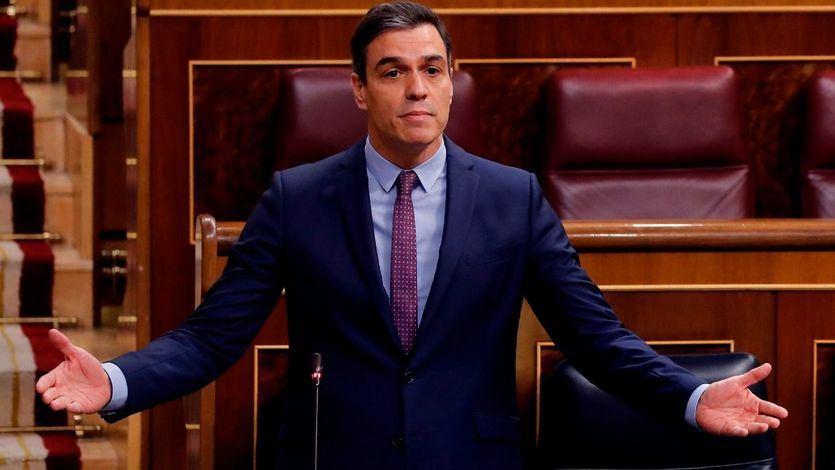 Sánchez, a Casado: 'Reflexione, usted habla como Vox, actúa como Vox y vota lo que Vox'