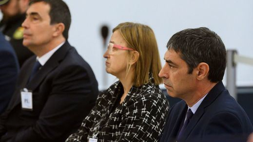 La Audiencia Nacional reanuda el 8 de junio el juicio a Trapero y la e xcúpula de los Mossos