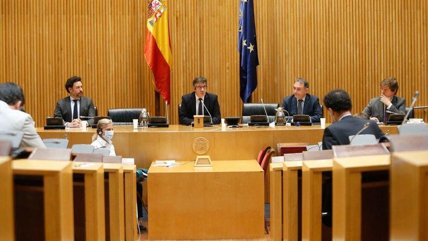 Nueva bronca entre Vox y Unidas Podemos en el Congreso, pese al intento de poner orden de Patxi López