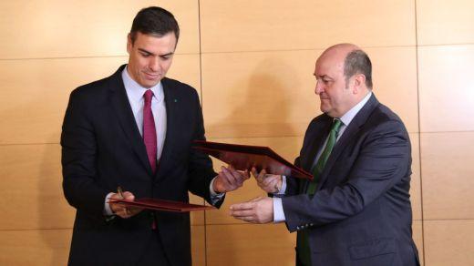 El PNV, molesto por el nuevo acuerdo del Gobierno con Ciudadanos para lograr apoyos al estado de alarma