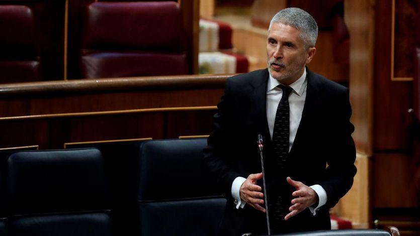 Marlaska asegura que no dio antes los detalles del cese de Pérez de los Cobos para proteger su carrera