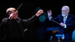 Los míticos compositores de bandas sonoras Ennio Morricone y John Williams, Princesa de Asturias de las Artes