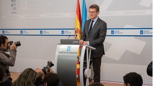 Feijóo pretende levantar el estado de alarma en Galicia el próximo lunes