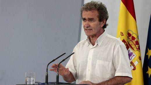 Simón pone el foco en los casos importados y avisa del posible incremento con la apertura de fronteras