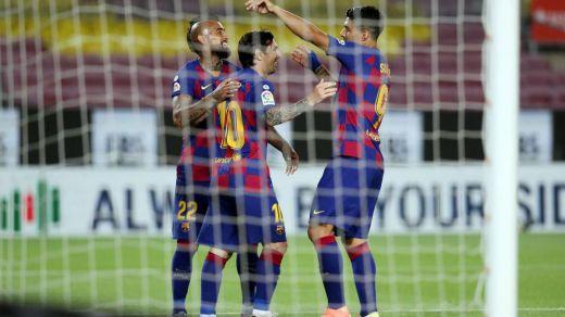 El Barça gana por pegada a un Leganés que se hunde en el descenso (2-0)
