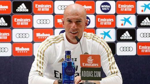 Zidane, resignado ante el calendario y los horarios para el Real Madrid en Liga
