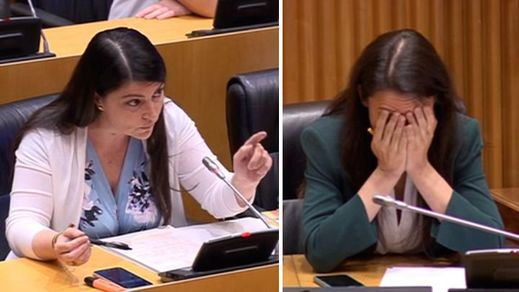 Duro choque entre Macarena Olona (Vox) y la ministra de Igualdad a cuenta del feminismo