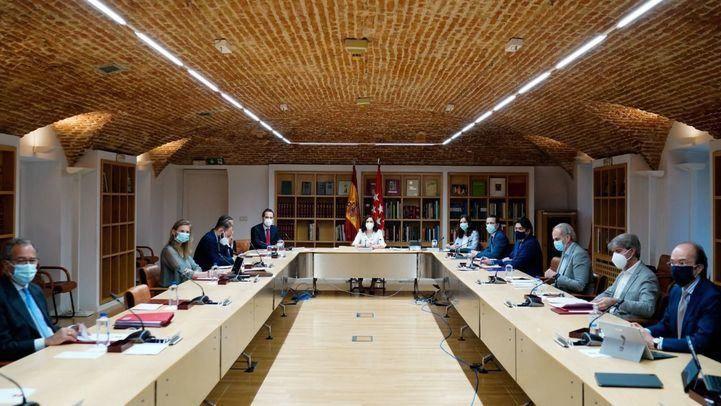 Consejo de Gobierno extraordinario, que se ha celebrado en la Real Casa de Correos