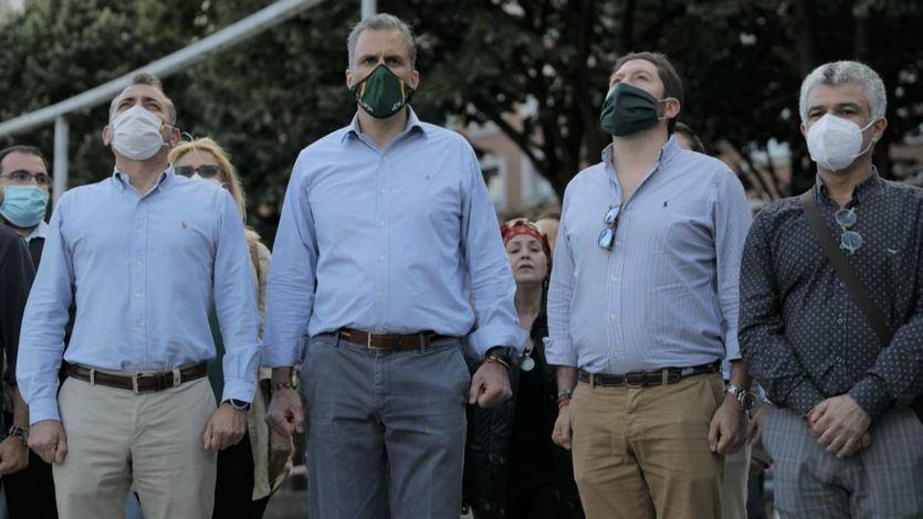 El mitin de Vox en Bilbao provocó graves enfrentamientos y disturbios de vecinos y antifascistas