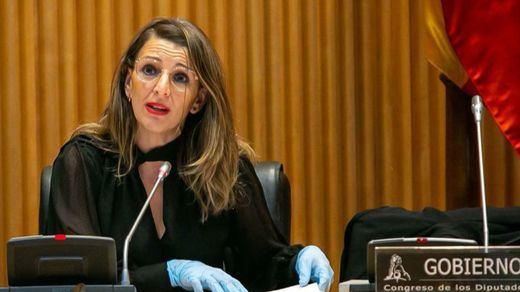 Yolanda Díaz defiende que las empresas paguen