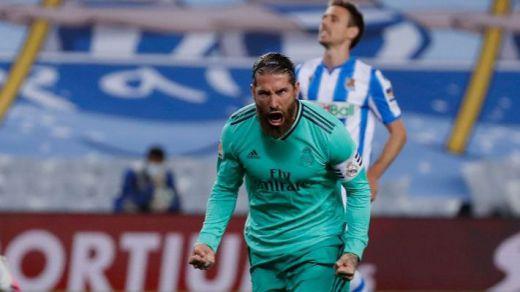 La nueva normalidad es el liderato del Madrid: 1-2 a la Real Sociedad y adelanta al Barça