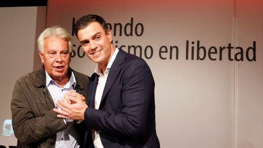 El PSOE se alía con PP y Vox para impedir investigar a González y su posible relación con los GAL