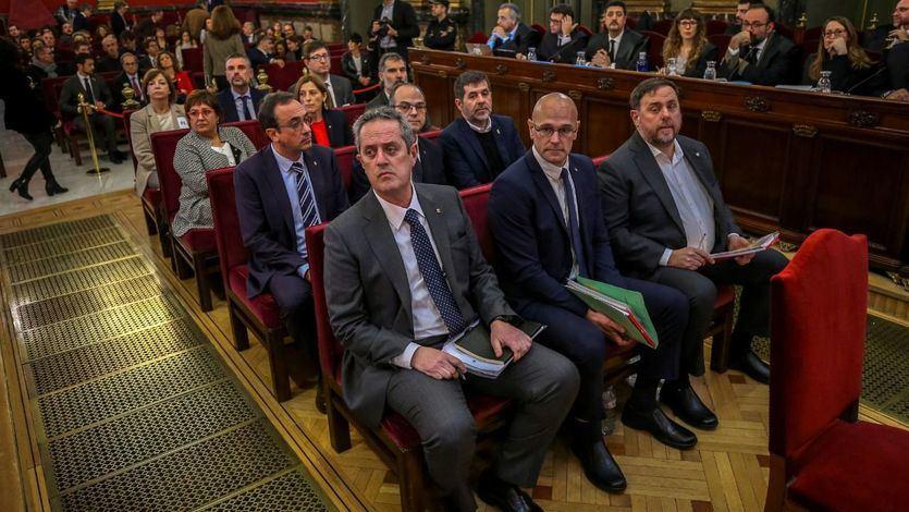 El Constitucional se niega a suspender las penas y no admite los nuevos recursos de los presos del 'procés'