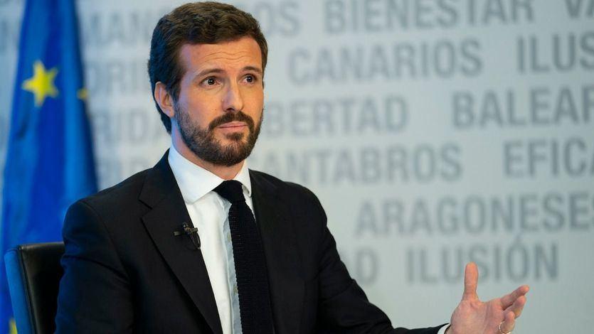 Casado abre la puerta a apoyar el decreto de 'nueva normalidad' con condiciones y el Gobierno pide que no sea un gesto electoralista
