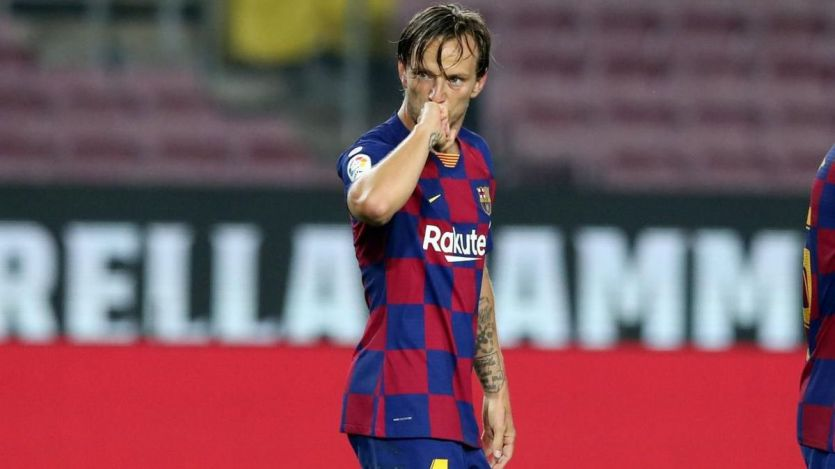 El Barça gana a duras penas al Athletic con un solitario tanto de Rakitic (1-0)