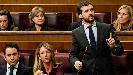 El PP acusa al Gobierno en sede parlamentaria de