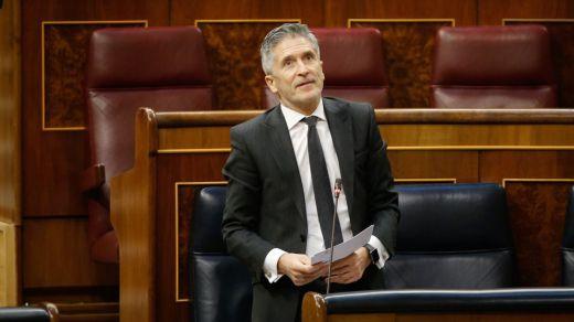 La oposición, contra un ausente Marlaska en el Congreso: el PP reclama