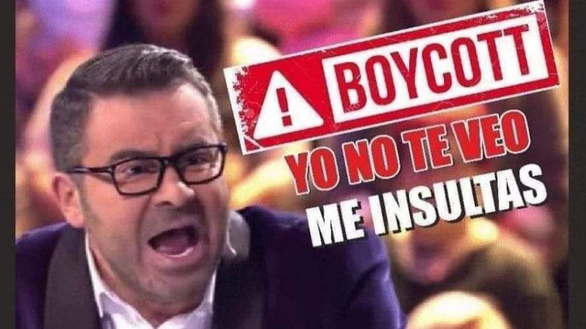 Una campaña pide un boicot a los anunciantes de 'Sálvame' y Telecinco por Jorge Javier Vázquez