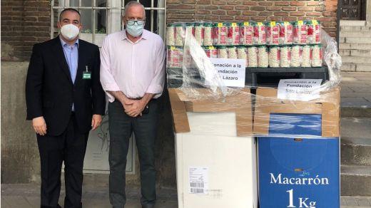 Donación de Mercadona a la Fundación San Lázaro