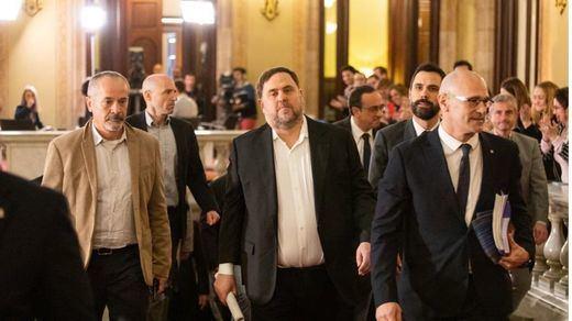 La Fiscalía se opone al estado de semilibertad para los presos independentistas catalanes