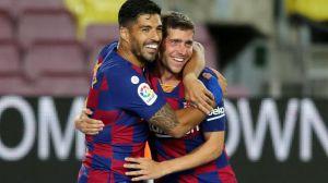 El Barça hace descender al Espanyol y sigue vivo en la lucha por la Liga (1-0)