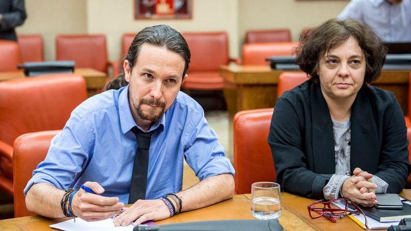 Gloria Elizo (Podemos) reclama un 'referéndum y la abdicación del rey Felipe VI'