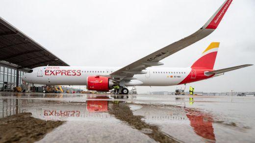 Iberia Express recibe el segundo avión A321neo