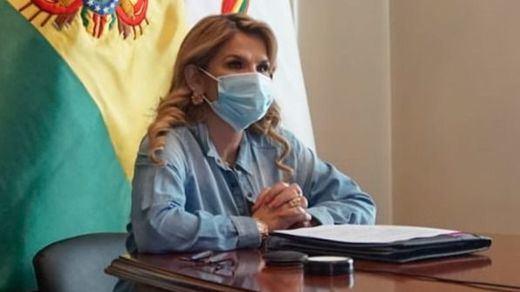 La presidenta de Bolivia, Jeanine Áñez, también da positivo por coronavirus