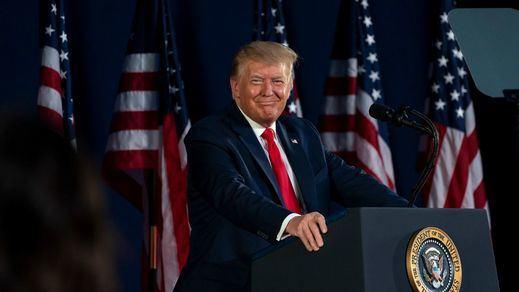 Primera aparición pública de Trump con mascarilla desde el inicio de la pandemia
