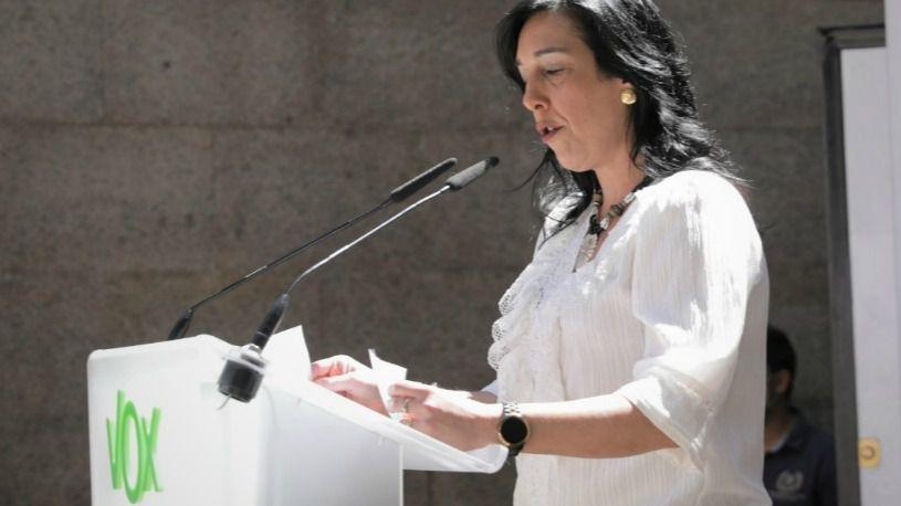 Amaia Martínez, la diputada con la que Vox debuta en la política vasca, de donde procede Abascal