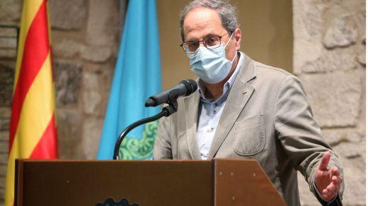 Torra desafía a la Justicia y confinará las zonas de Lleida afectadas por el rebrote de coronavirus